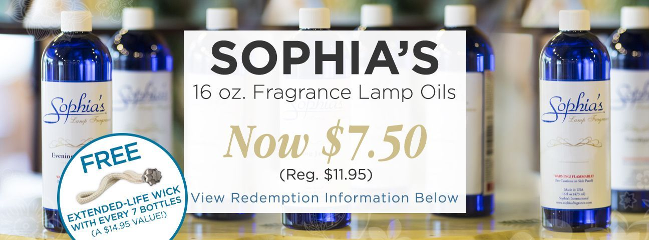 Sophia's Fragrance Lamps & Oils