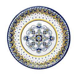 "Sorrento 11"" Dinner Plate by Le Cadeaux  - Special Order (Available September 2020)"