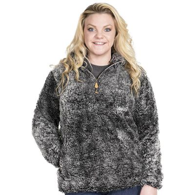 Steel Sherpa Pullover by Simply Southern