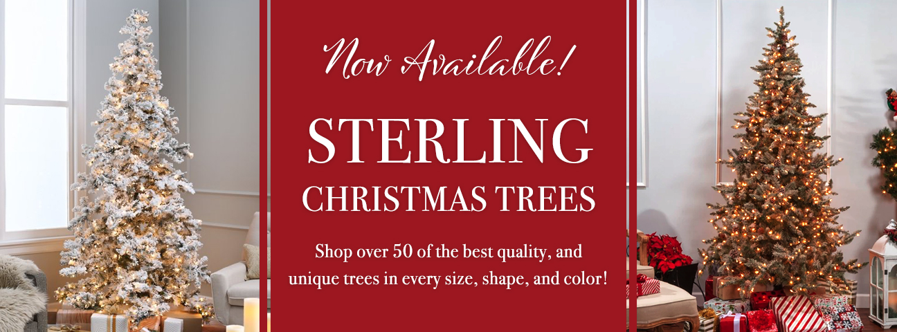 Sterling Christmas Trees