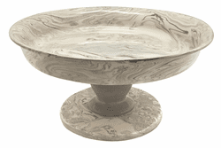 Stone Marble Ceramic Small Cookie Stand by Mariposa