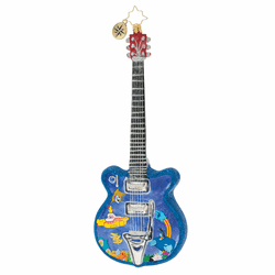 Strumming Away in Pepperland Ornament by Christopher Radko