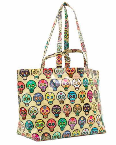 Sugar Skulls Legacy Jumbo Bag by Consuela