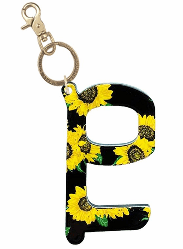 Sunflower Handsfree Keychain by Simply Southern