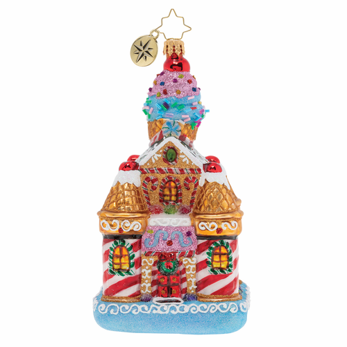 Sweetest Castle Around Ornament by Christopher Radko