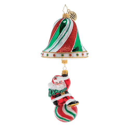Swinging into the Holidays! Ornament by Christopher Radko