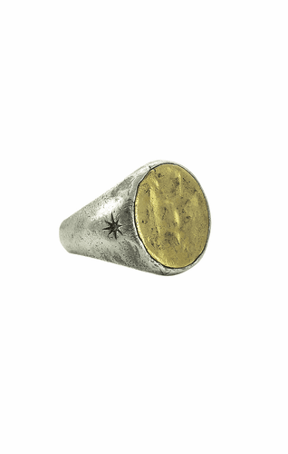 Symbol Signet Ring (Size 9) by Waxing Poetic