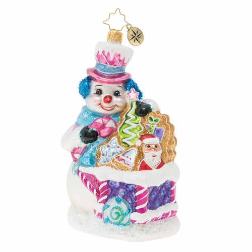 Tasty Snow Confectionery! Ornament by Christopher Radko