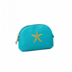 Teal Starfish Small Cosmetic Case by Spartina 449