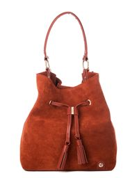 Terracotta Suede Drawstring by Spartina 449