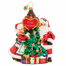The First Of Many Christmases Ornament by Christopher Radko
