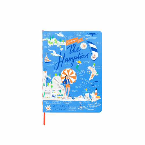The Hamptons Ruled Notebook by Spartina 449