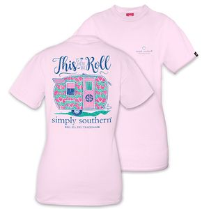 This is How We Roll Short Sleeve Tee by Simply Southern