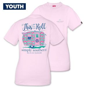 This is How We Roll YOUTH Short Sleeve Tee by Simply Southern