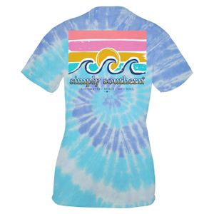 Tide Saltwater Short Sleeve Tee by Simply Southern
