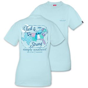 Tied & Strong Short Sleeve Tee by Simply Southern