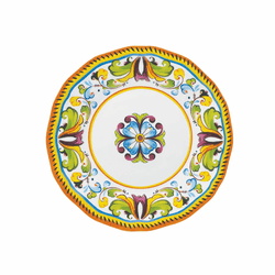 "Toscana 9"" Salad Plate by Le Cadeaux - Special Order (Available September 2020)"