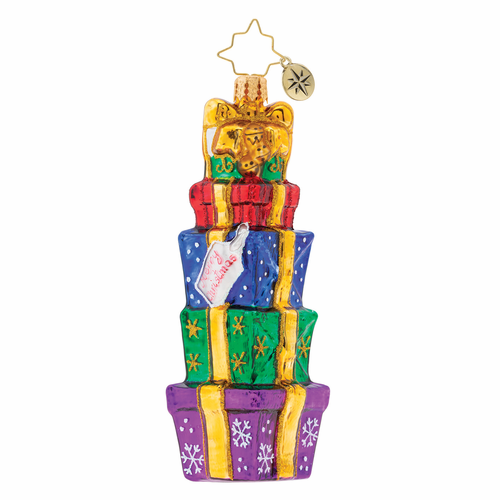 Tower of Gifts! Ornament by Christopher Radko