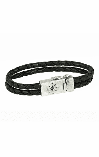 Two Strand Leather Bracelet - Large by Waxing Poetic