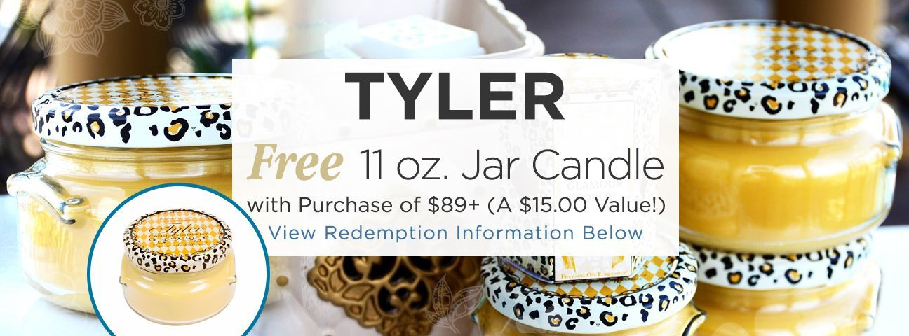 11 oz. Prestige Two Wick Candle by Tyler Candle