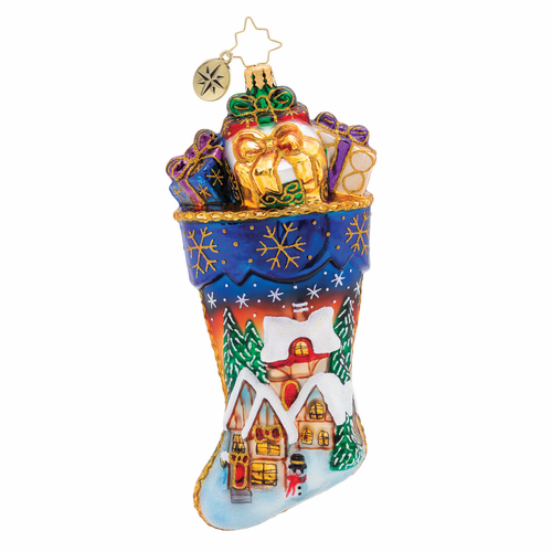 Vacation At Christmas Inn! Ornament by Christopher Radko