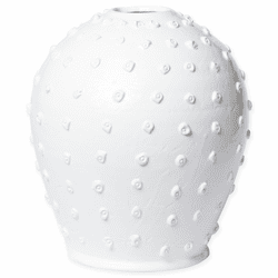 Vietri Artistic Edges Dotted Medium Vase