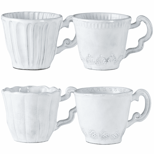 Vietri Incanto Assorted Mugs - Set of 4