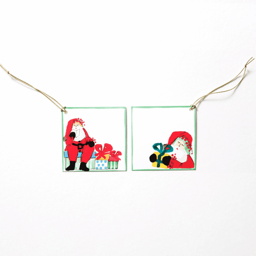 Vietri Old St. Nick Letters to Santa Gift Tag Set