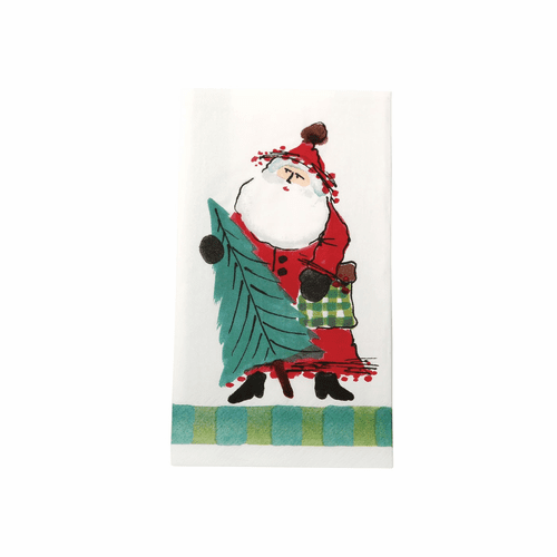 Vietri Old St. Nick Paper Guest Towels (Pack of 16)