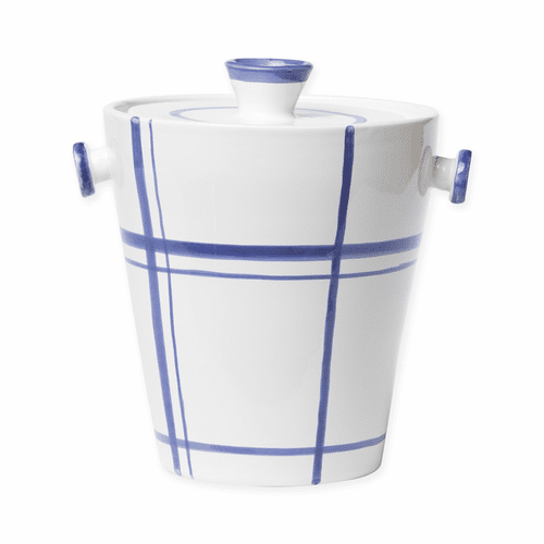 Vietri Stripe Medium Ice Bucket