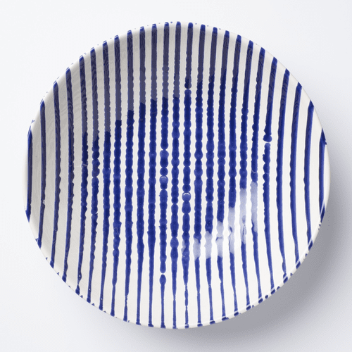 Vietri Stripe Stripe Medium Serving Bowl