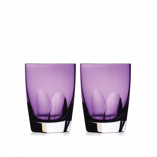 W Heather Tumbler Pair by Waterford