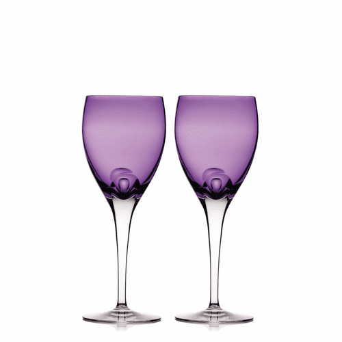 W Heather Wine Pair by Waterford