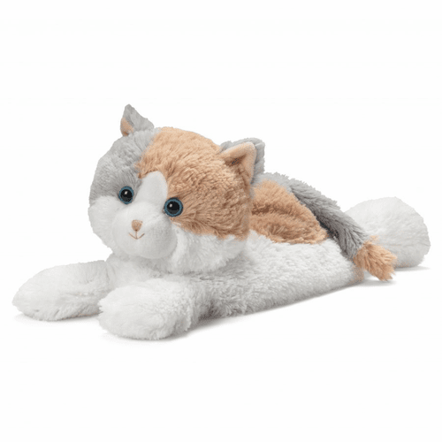 Warmies Heatable & Lavender Scented Calico Cat Stuffed Animal