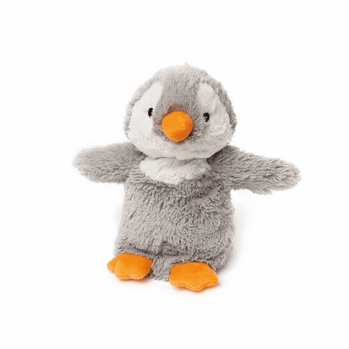 Warmies Heatable & Lavender Scented Gray Penguin Stuffed Animal