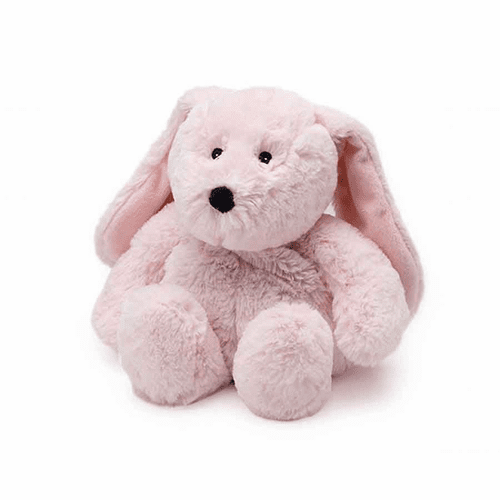 Warmies Heatable & Lavender Scented Pink Bunny Stuffed Animal