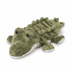 Warmies Junior Heatable & Lavender Scented Alligator Stuffed Animal