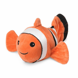 Warmies Junior Heatable & Lavender Scented Clown Fish Stuffed Animal