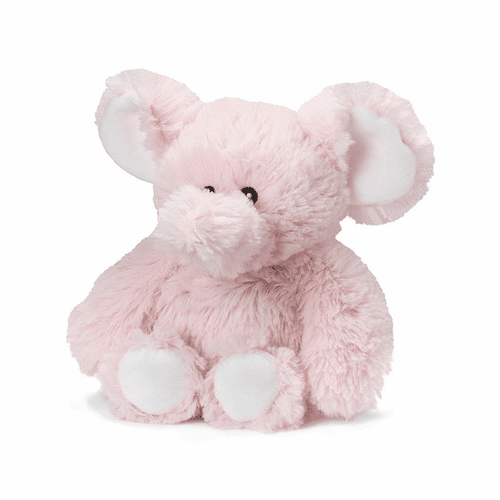 Warmies Junior Heatable & Lavender Scented Pink Elephant Stuffed Animal