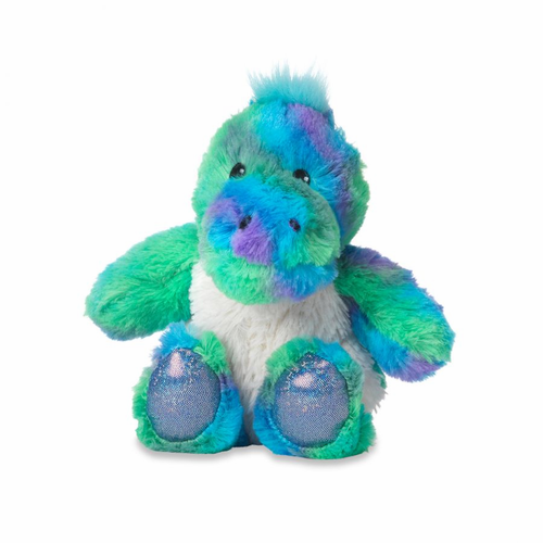 Warmies Junior Heatable & Lavender Scented Rainbow Dinosaur Stuffed Animal