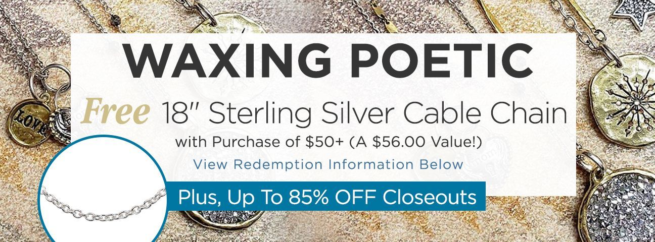 Waxing Poetic Closeouts