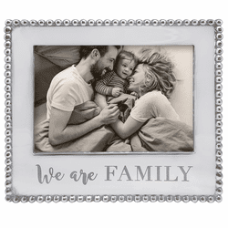 We Are Family Beaded 5x7 Frame by Mariposa