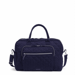 Weekender Travel Bag Classic Navy by Vera Bradley