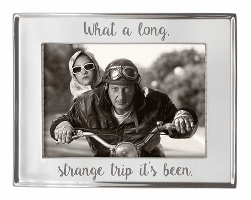 """""""What a Long Strange Trip It's Been"""" 5x7 Signature Frame by Mariposa"""