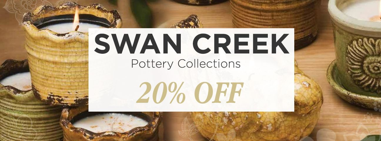 Swan Creek White Woods Pottery Collection