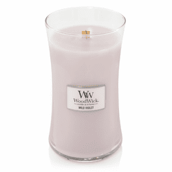 Wild Violet WoodWick Candle 22 oz.