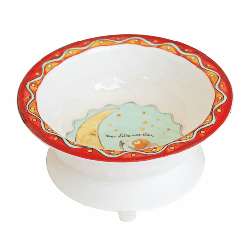 Wish on a Star Suction Bowl by Baby Cie