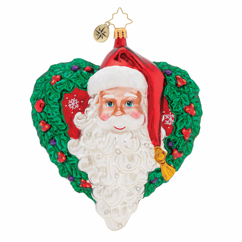 With Love From Santa Ornament by Christopher Radko