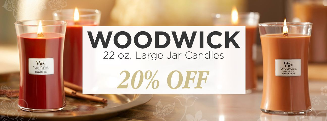 Woodwick Jar Candles - 22 oz.
