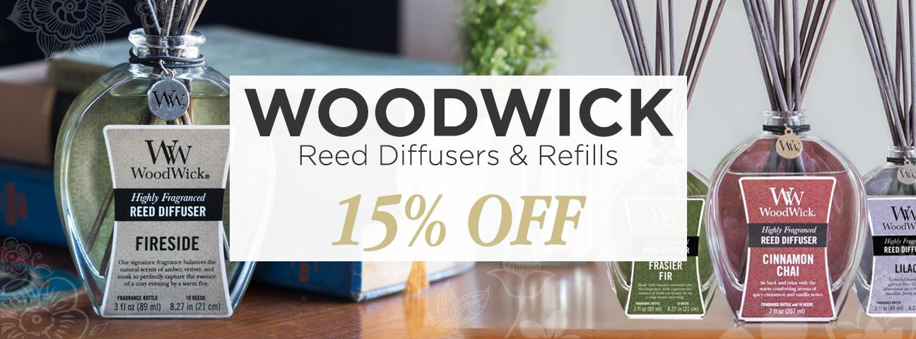 WoodWick Diffusers & Refills